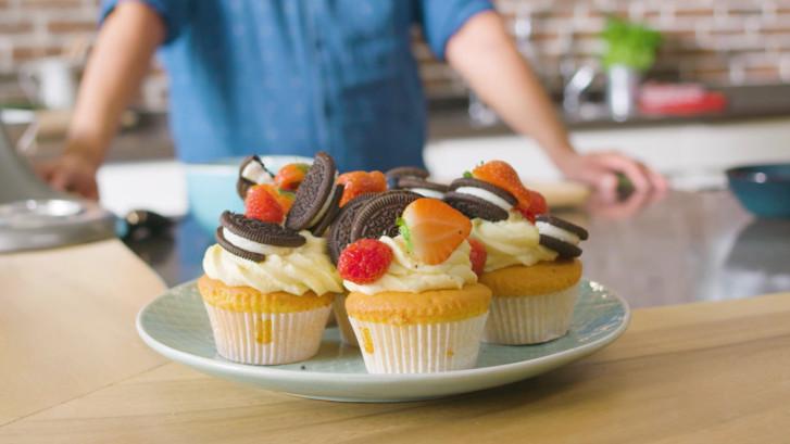Zo maak je perfecte botercrème voor op je cupcakes