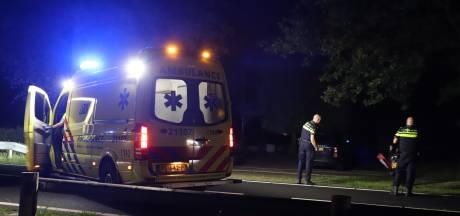 Motorrijder raakt vangrail en valt in Sint-Oedenrode