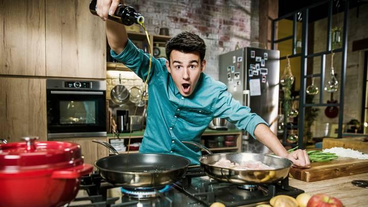 Loïc, fou de cuisine