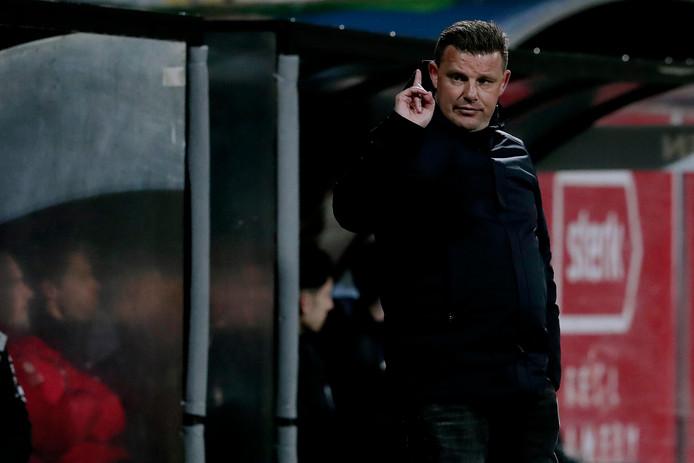 Trainer John Stegeman van Go Ahead Eagles