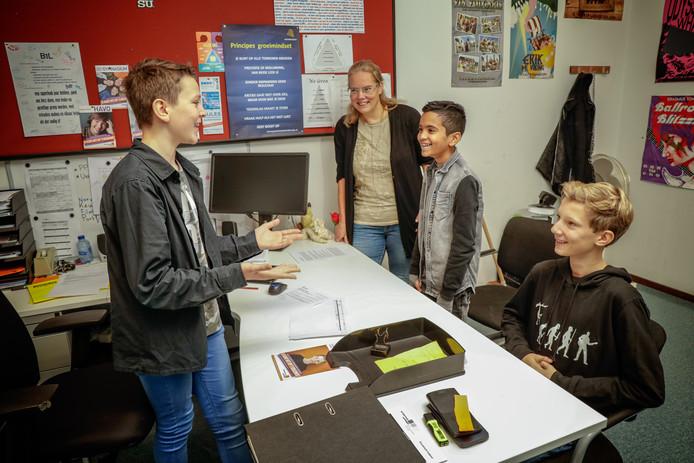 Op het Zoetermeerse Erasmus college wordt gestart met een opleiding Ondernemer.