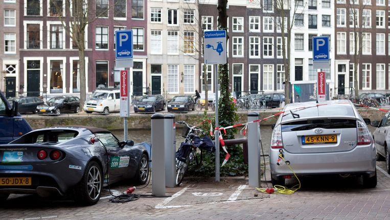 'Vooral een hoogopgeleide voorhoede profiteert van verduurzaming van de stad' Beeld Elmer van der Marel