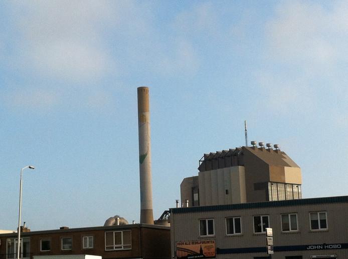 Geen rookpluim boven de voormalige Electrabel door een storing. Foto: Hai Voeten/DG