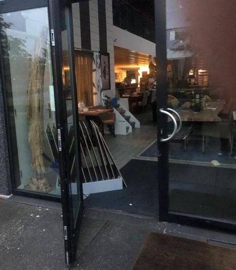 Veel schade na inbraak bij meubelzaak Moergestel: 'Dit is misschien al wel de 29ste keer'