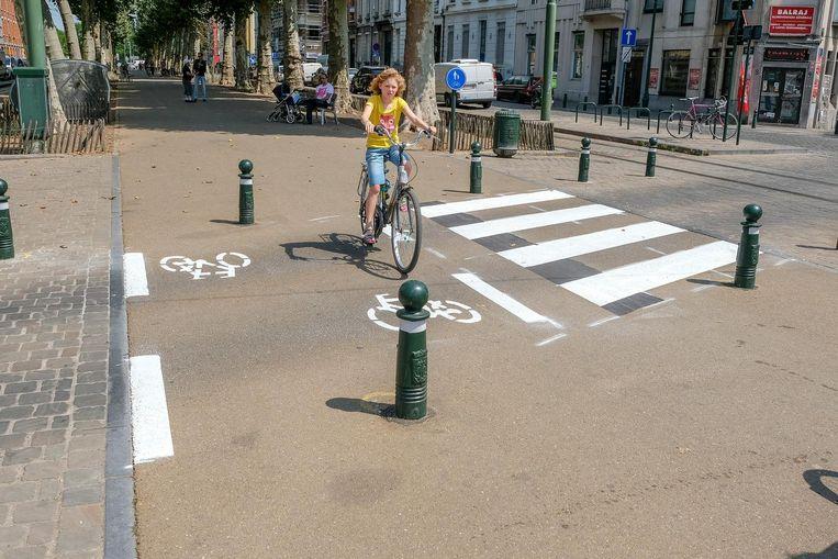 Extra geld voor fietsprojecten in Brussel.