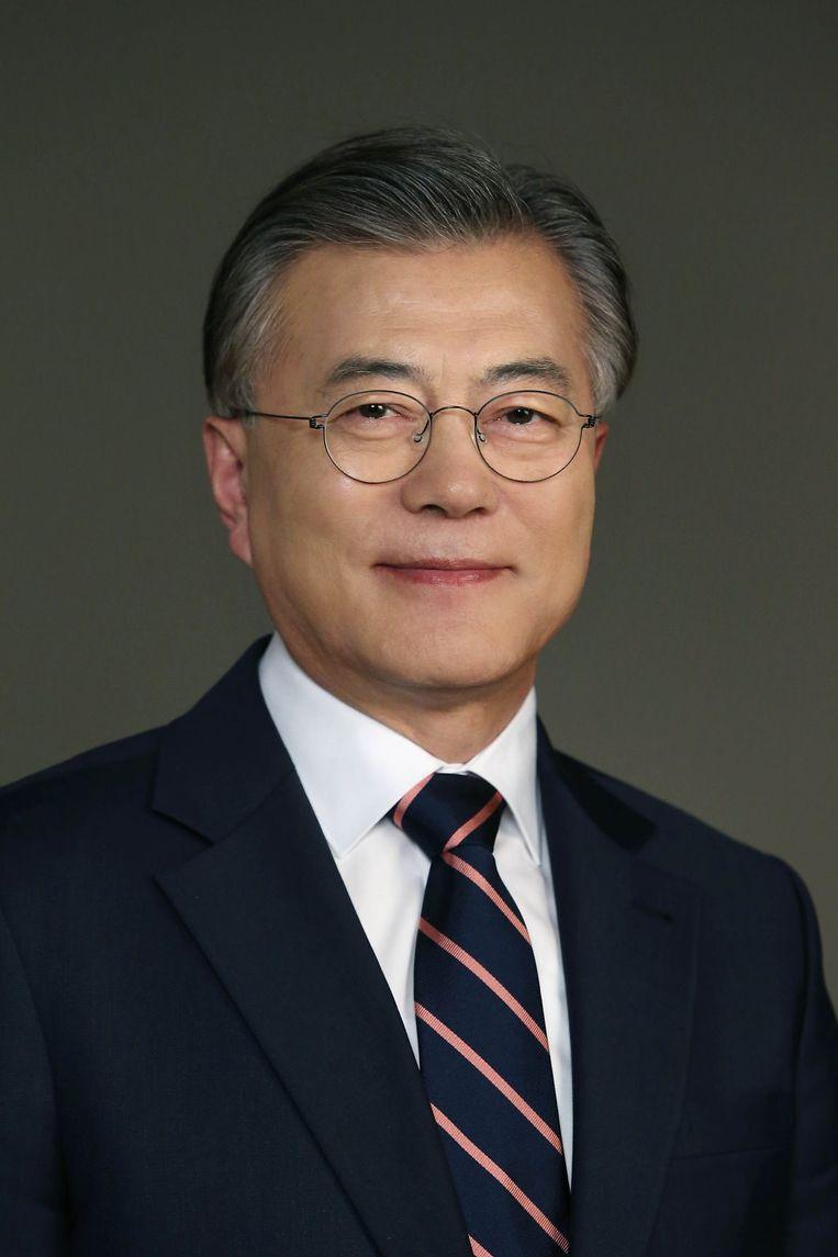 Moon Jae-in Beeld *
