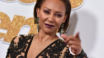 'Mel B deelt klappen uit aan mannelijk model'