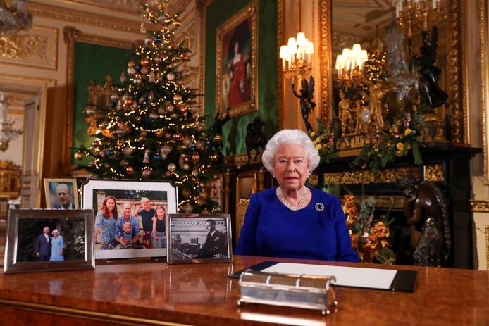 Queen Elizabeth tijdens de speech