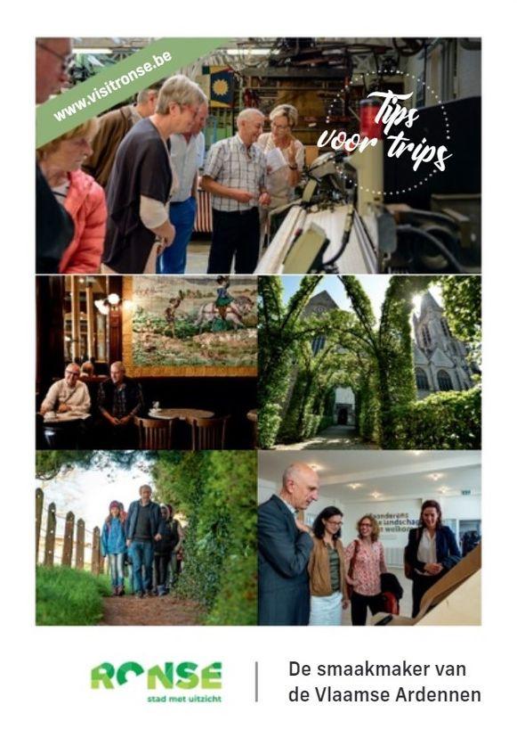 De nieuwe toeristische brochure 'Tips voor Trips' is verkrijgbaar in een papieren en digitale versie.