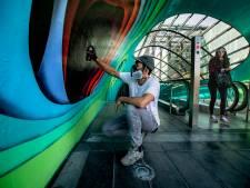 Eindelijk een echte tunnel voor kunstenaar 1010 in Eindhoven