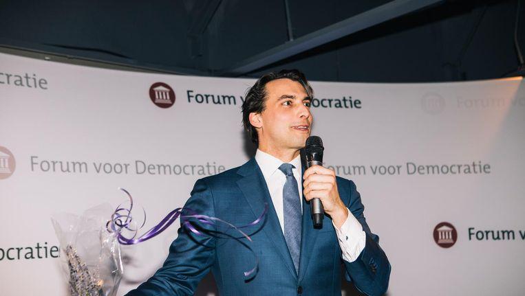 Thierry Baudet van Forum voor Democratie. Beeld Marcel Wogram