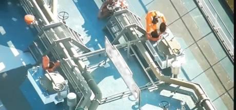 Schipper op de Waal op heterdaad betrapt op verkeerd ontgassen van binnenvaarttanker