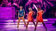 Ian Thomas doet een triootje en Elodie danst ondanks haar blessure: zo brachten de bekende kandidaten het ervan af in 'Dancing With The Stars'