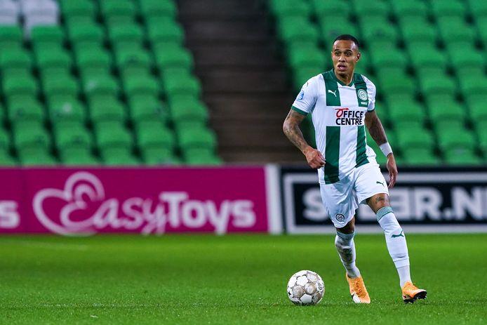 Damil Dankerlui is bij FC Groningen alleen nog rechtsback.