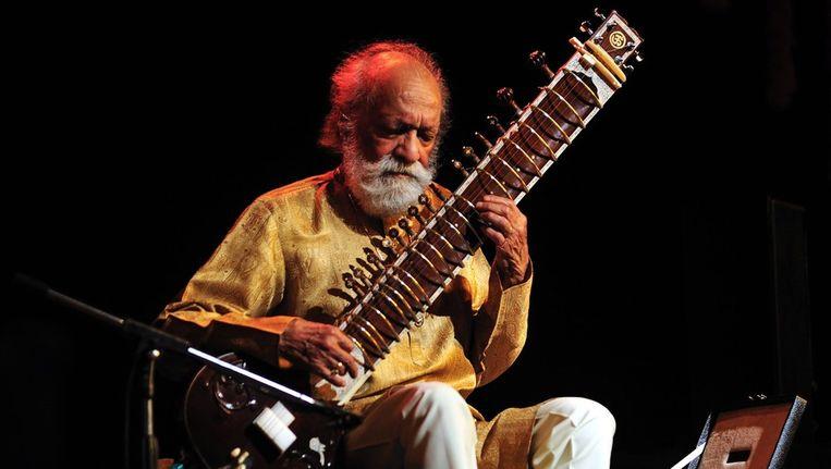 Begin dit jaar bij een concert in het Indiase Bangalore. Beeld EPA