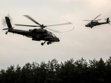 'Parade' van legerhelikopters boven Rivierenland