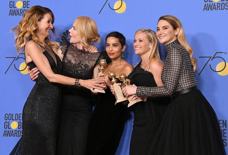 In januari besloten coryfeeën en mindere goden zich solidair in het zwart te hullen bij de uitreiking van de Golden Globes. Beeld null