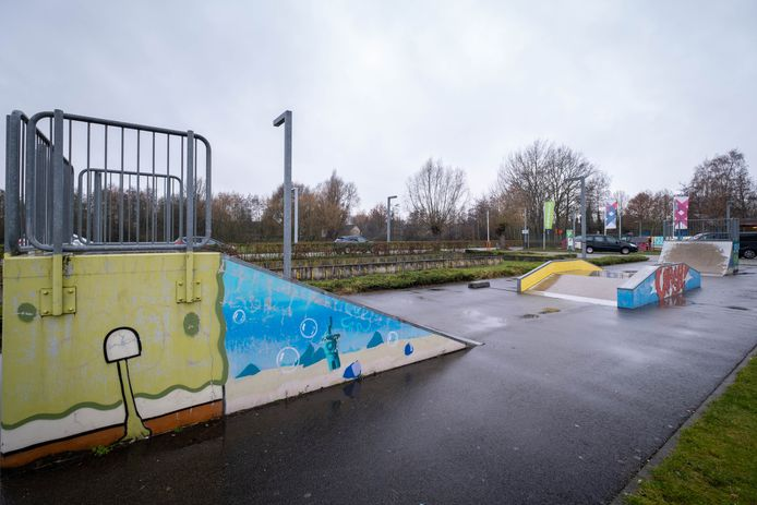 PUURS Het huidige skatepark aan JOC Wijland