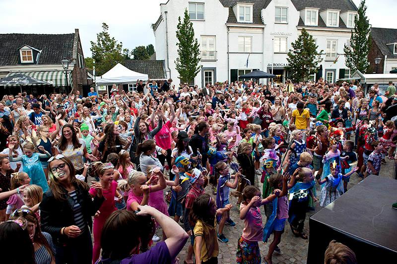 In 2016 viel BBQ Pop samen met de kindervakantieweek in Moergestel.