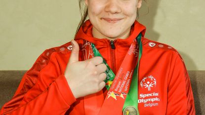 Blanche Decorte pakt vier medailles op Special Olympics
