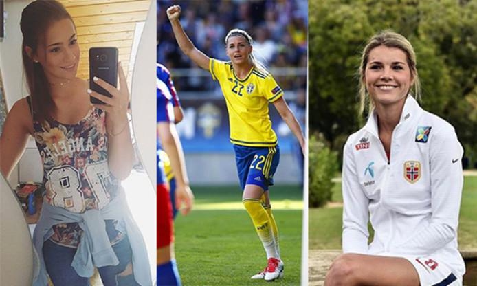 Dames die binnenkort schitteren tijdens het EK Vrouwenvoetbal in Deventer.