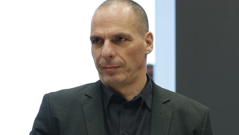 De Griekse oud-minister van Financiën Yanis Varoufakis. Beeld EPA