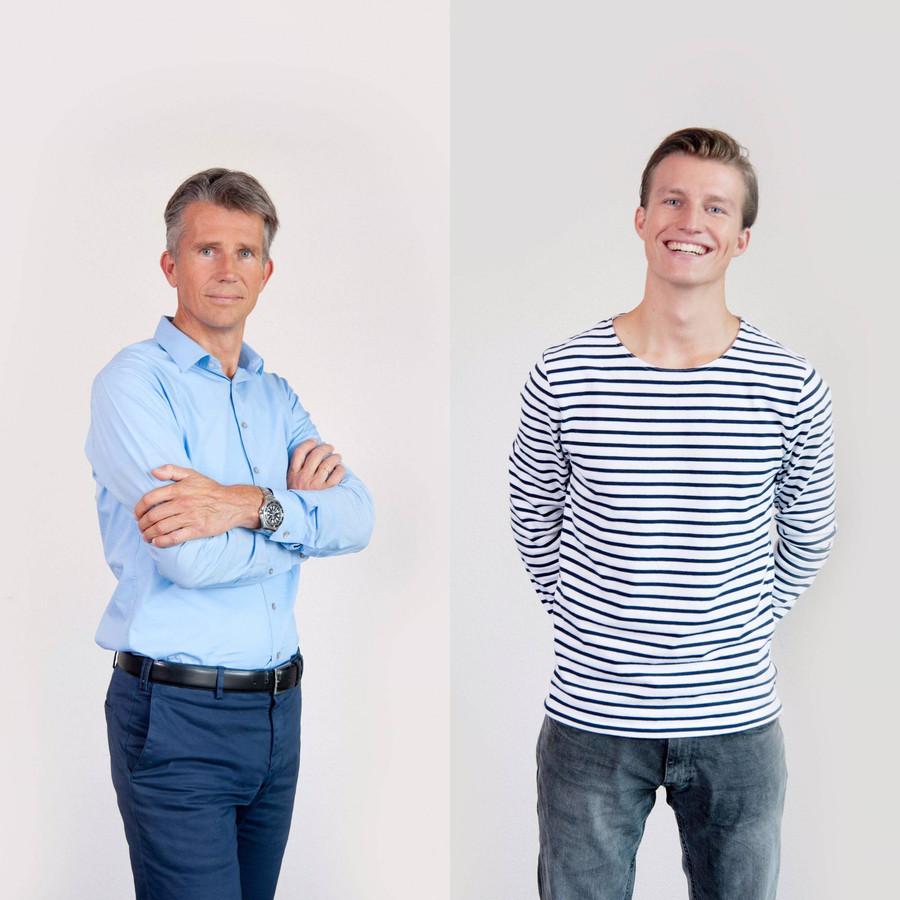 Niels en Jacco Pesser.