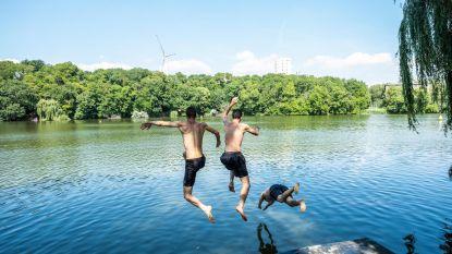 Zwemmers Noordkasteel laten zich niet afschrikken door zwemongevallen
