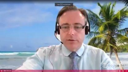 """De Wever en Van Besien op dezelfde golflengte: """"Spijtig dat ook grotere speeltuinen in dichtbevolkte buurten nog niet open kunnen"""""""