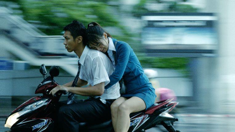 Kai Ko en Wu Ke-xi in The Road to Mandalay. Beeld filmstill