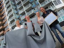 Primeur in Nederland: Zeeuws beddengoed van versleten spijkerbroeken