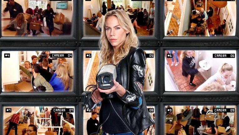 Nicolette Kluijver presenteert Get The F*ck Out Of My House. Beeld RTL