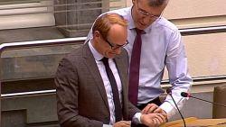 Ben Weyts opnieuw onwel in parlement