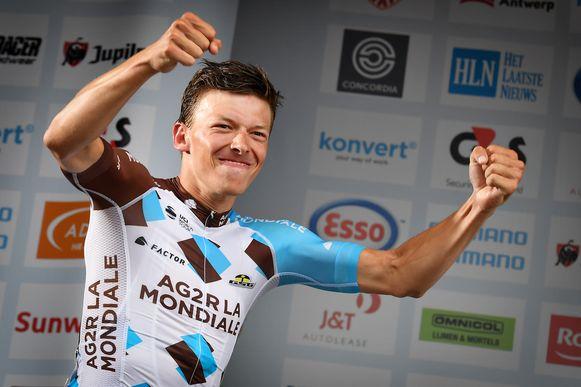 Oliver Naesen, bij zijn Belgische titel twee jaar geleden.