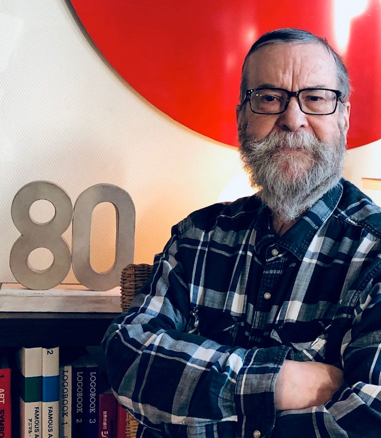 Beeldend kunstenaar Paul Ibou is 80 jaar geworden.