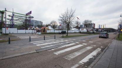 Rotonde Koning Boudewijnlaan/Voorstraat verdwijnt na Hasselt Kermis