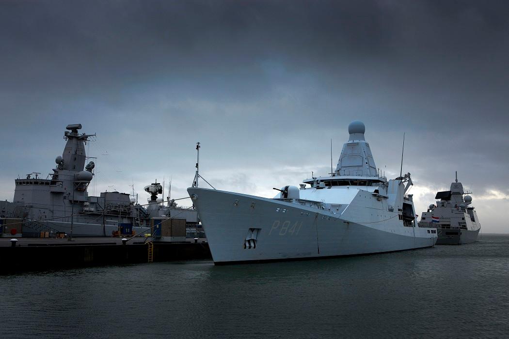 De Zr. Ms.Zeeland was onderweg naar Denemarken en Zweden voor een training ter voorbereiding op de inzet in het Caribisch gebied volgend jaar.