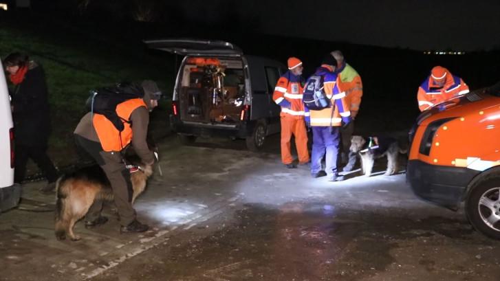 Zoektocht met reddingshonden naar vermiste vrouw uit Westervoort