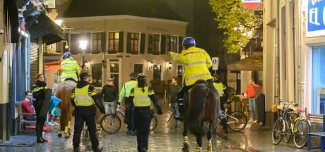 Politietraining in binnenstad Breda