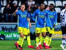 LIVE | Feyenoord recht rug en slaat na rust drie keer toe