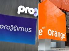 Telenet dépose plainte contre le projet de partenariat entre Proximus et Orange