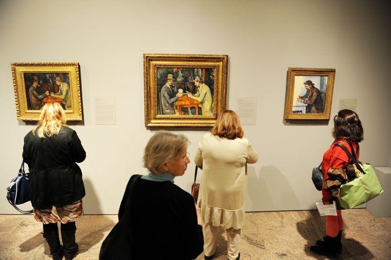 De Kaartspelers van Cézanne.