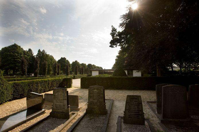 Begraafplaats Kerkhoflaan Lunteren.