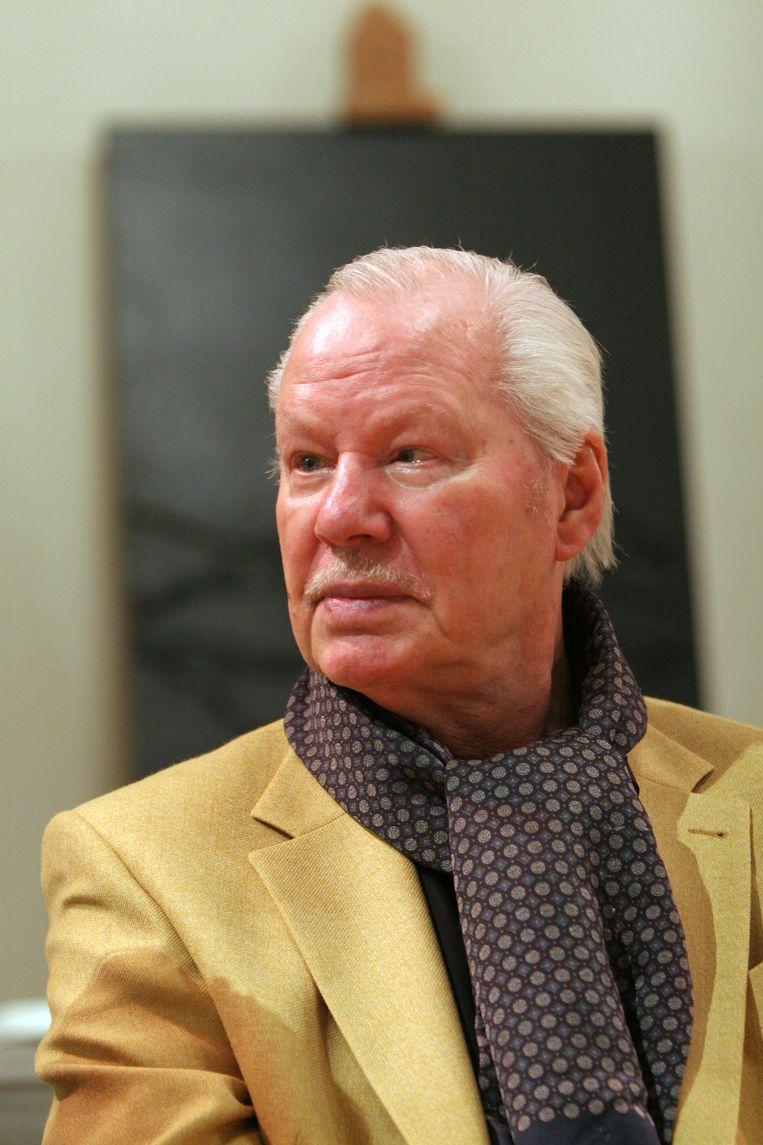 Kunstenaar Armando op de opening van zijn expositie in Amersfoort in 2008.  Beeld ANP PHOTO ROB VOSS
