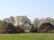 Paasvuurberg buurtschap Dijkhoek wordt 'preventief' geshredderd