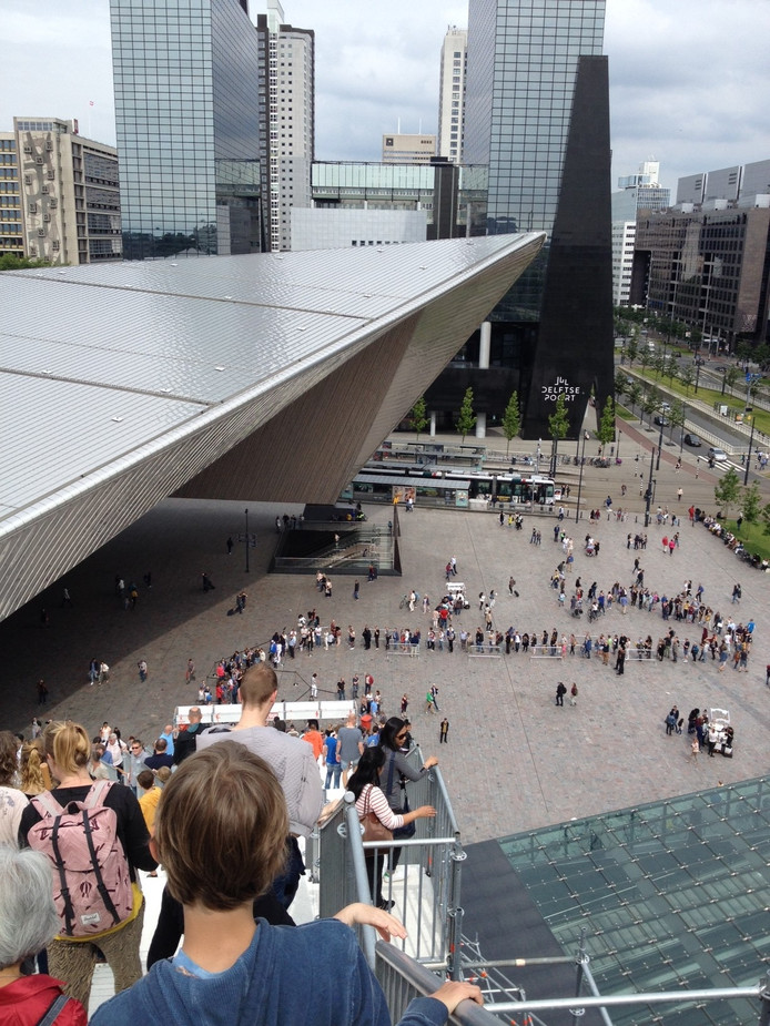 De Trap in Rotterdam is nog tot en met zondag 19 juni geopend.