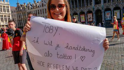 Toby zoekt Nathalie via Twitter