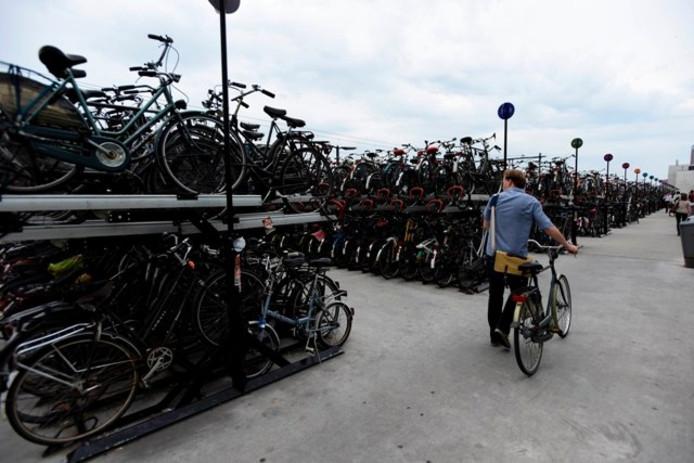 De onbewaakte bij station Tilburg. Foto Joris Buijs/BeeldWerkt