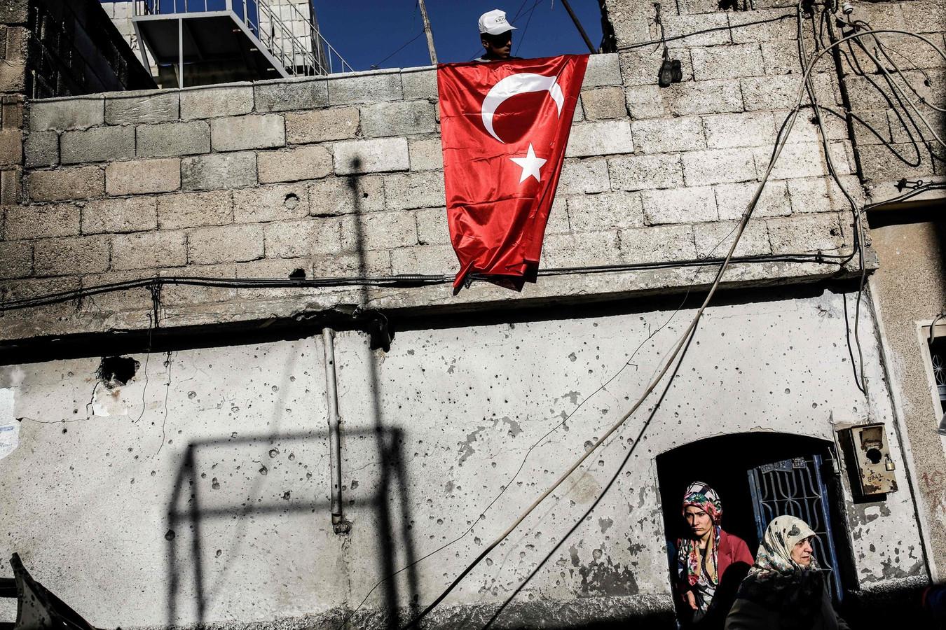 Kilis, frontière turque