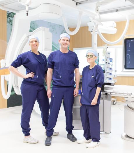 Patiënten Albert Schweitzer mogen na dotteren dezelfde dag nog naar huis
